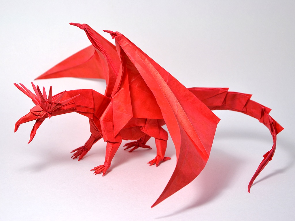 Origami Dragon Aww