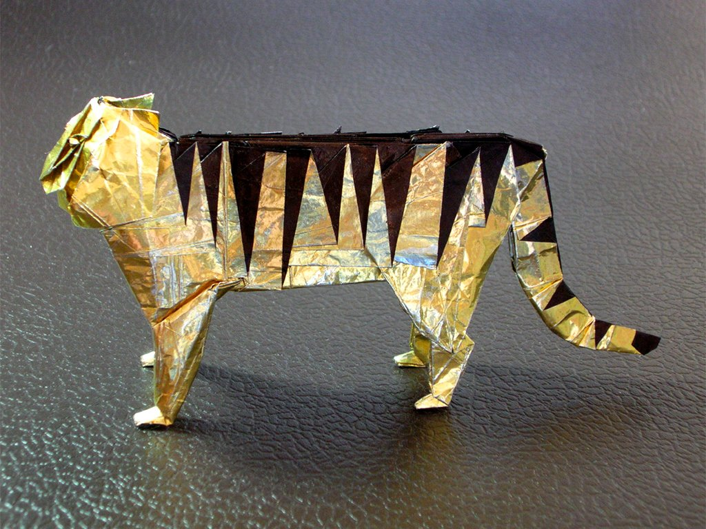 лошадь д брилл оригами схема